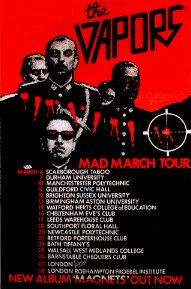 Mad March tour poster.
